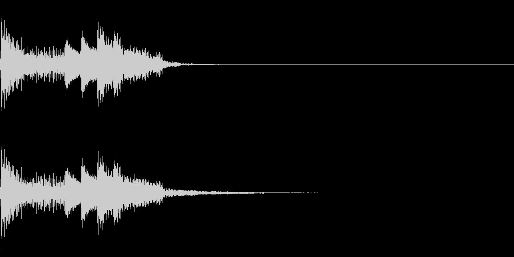 ジャーン(ファミコン/感動的/イベントの未再生の波形