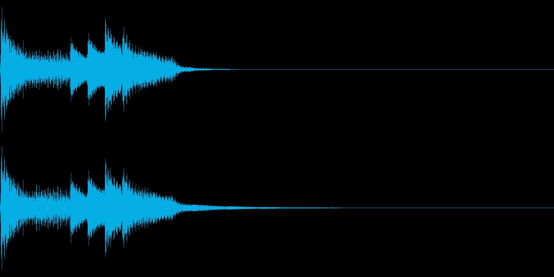 ジャーン(ファミコン/感動的/イベントの再生済みの波形