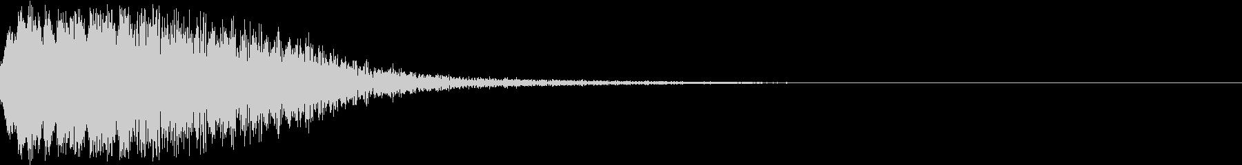 ブアシュゥン(サイバー・機械・プッシュ)の未再生の波形