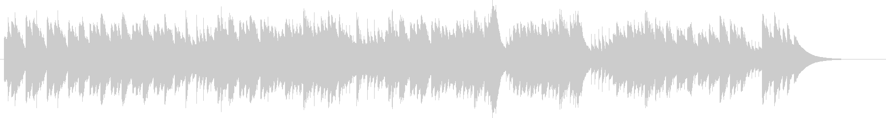 第17番テンペストよりベートーヴェンの未再生の波形