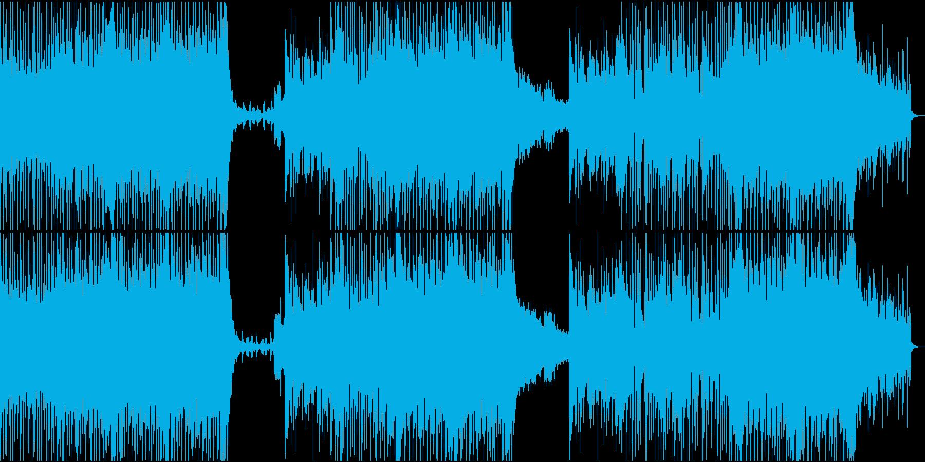 エッジの効いたヘビーなエレクトロ/...の再生済みの波形