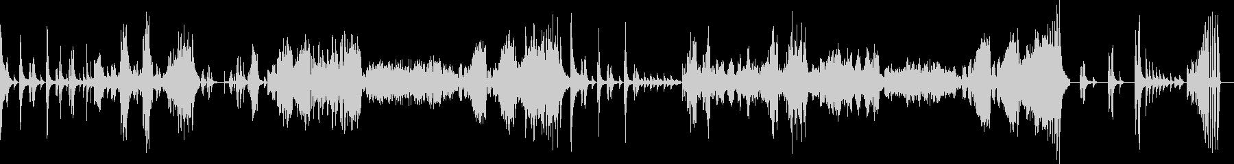 ベートーヴェンピアノソナタ悲愴第一楽章の未再生の波形