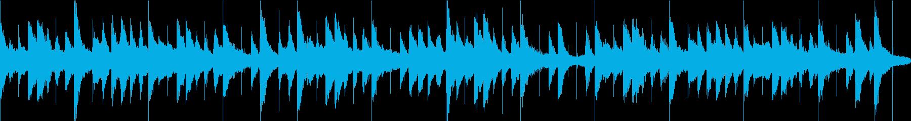 ほのぼの/アコースティックな30秒BGMの再生済みの波形