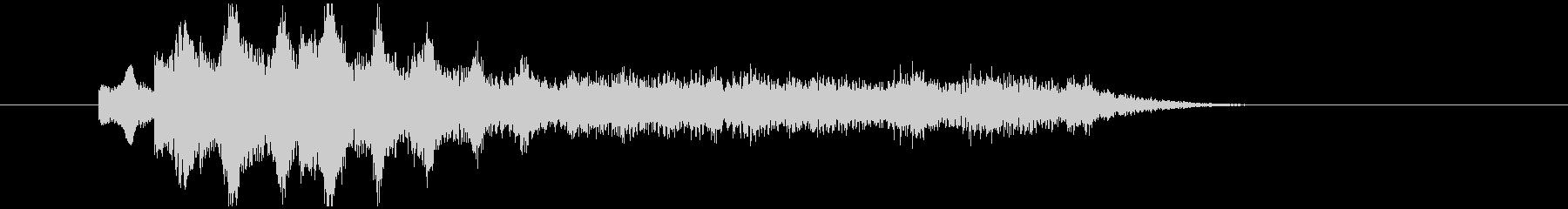 不気味なアルペジオ 5の未再生の波形