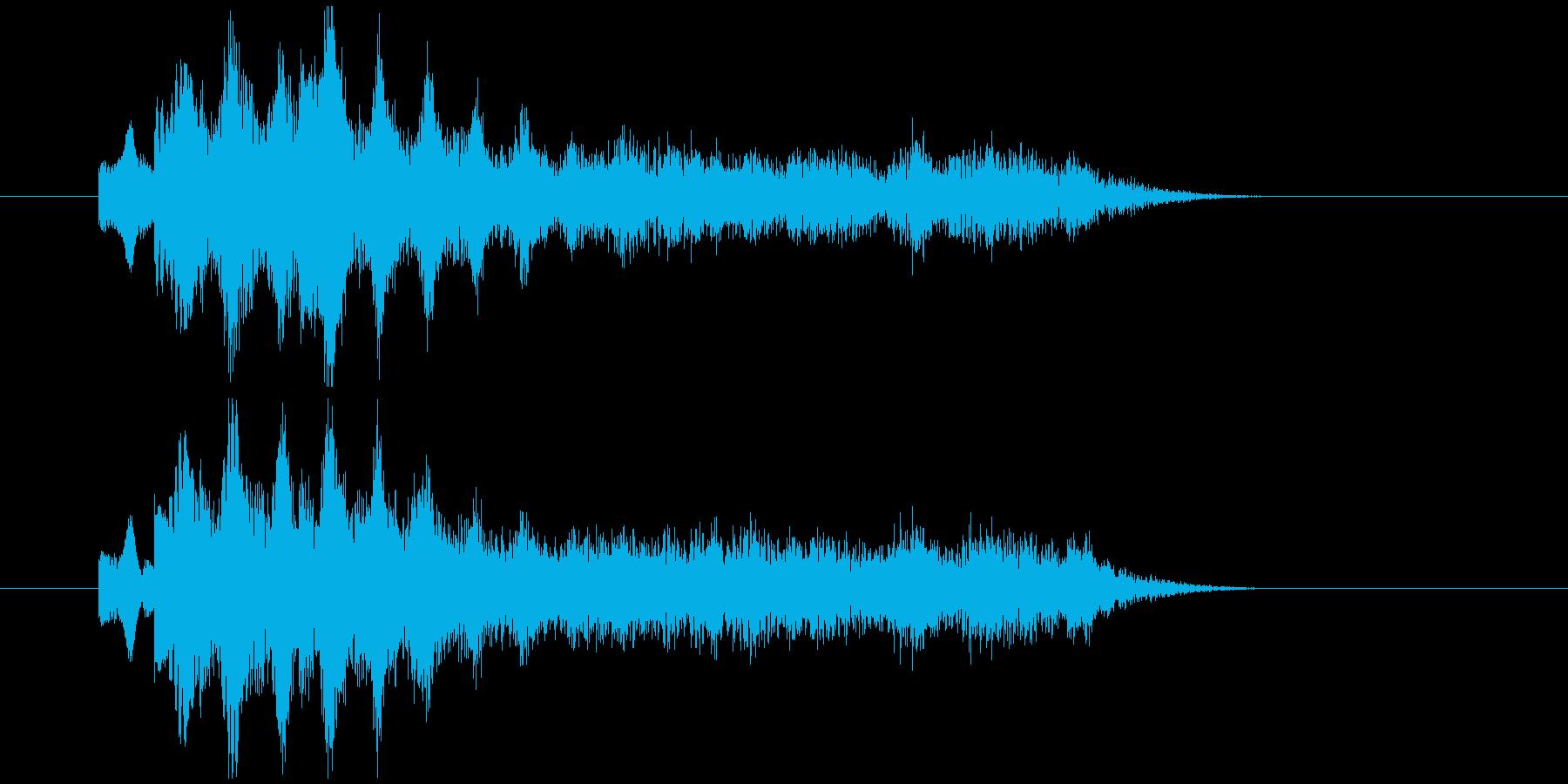不気味なアルペジオ 5の再生済みの波形
