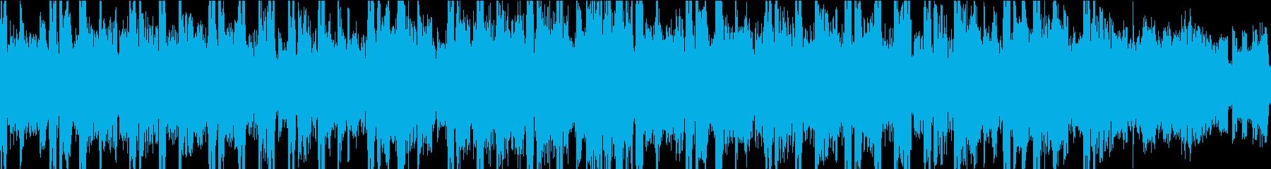 グルーヴィーなベースラインと渦巻き...の再生済みの波形