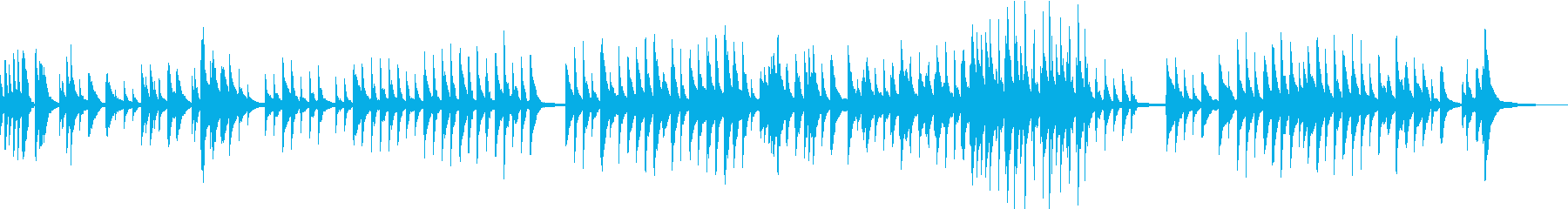 映像・CM/切なく儚いピアノバラードの再生済みの波形