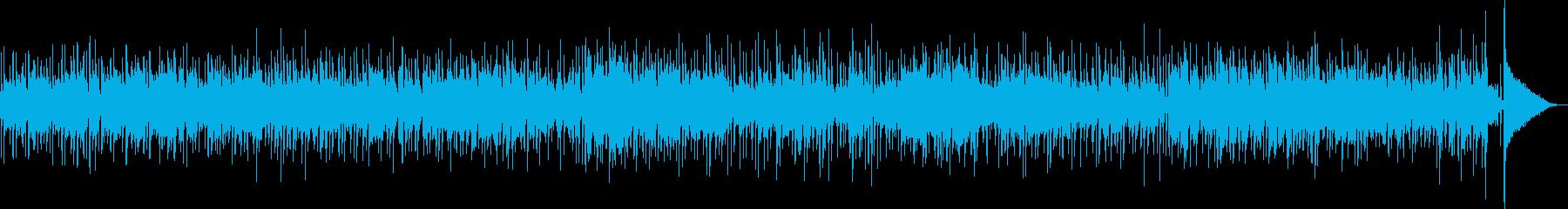 コミカルで軽快なカントリーブルース生演奏の再生済みの波形