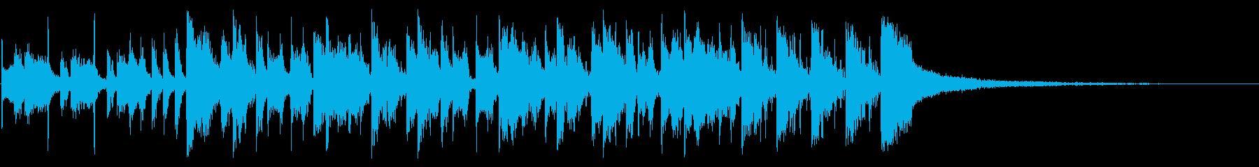 ゲーム中の再生済みの波形