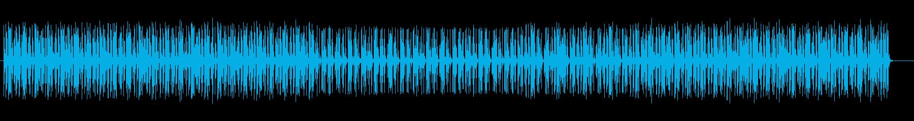 未来感のあるテクノポップスの再生済みの波形