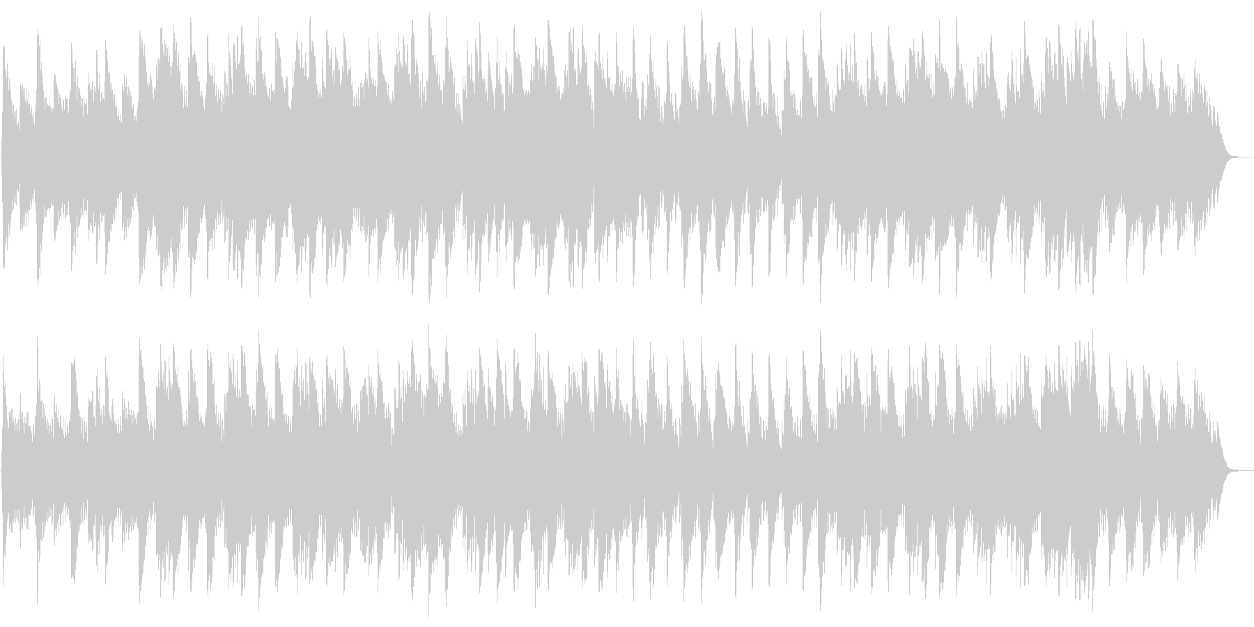 アベマリア(グノー)の未再生の波形