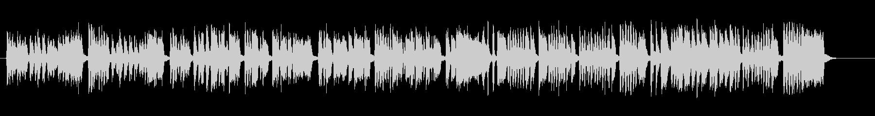 元気で明るいシンプルな合唱団コーラスの未再生の波形