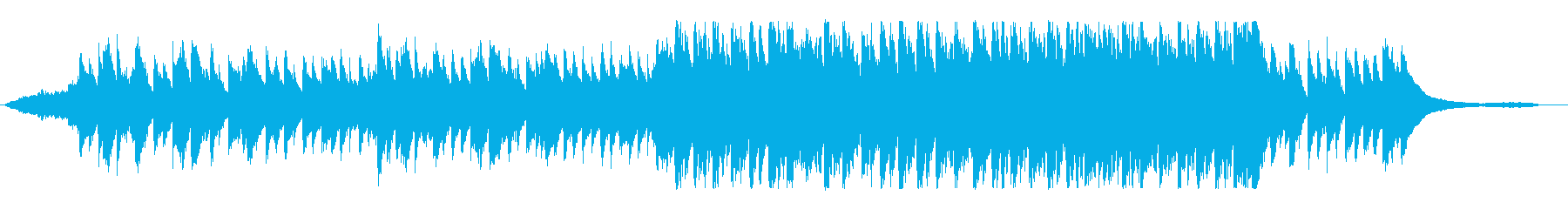 White Snow X'masの再生済みの波形