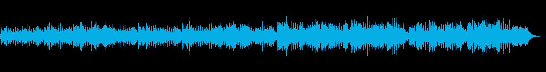 生演奏クラシック、ビバルディ、楽しいの再生済みの波形