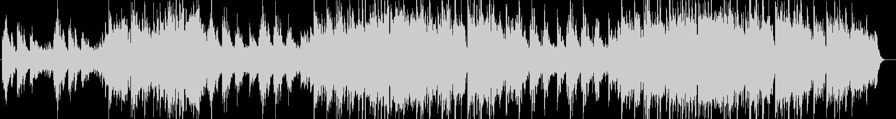 美しく切ないシンセサイザー系サウンドの未再生の波形
