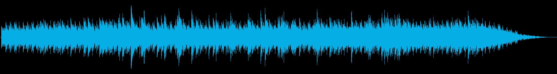優しいミニマルピアノアンビエントの再生済みの波形