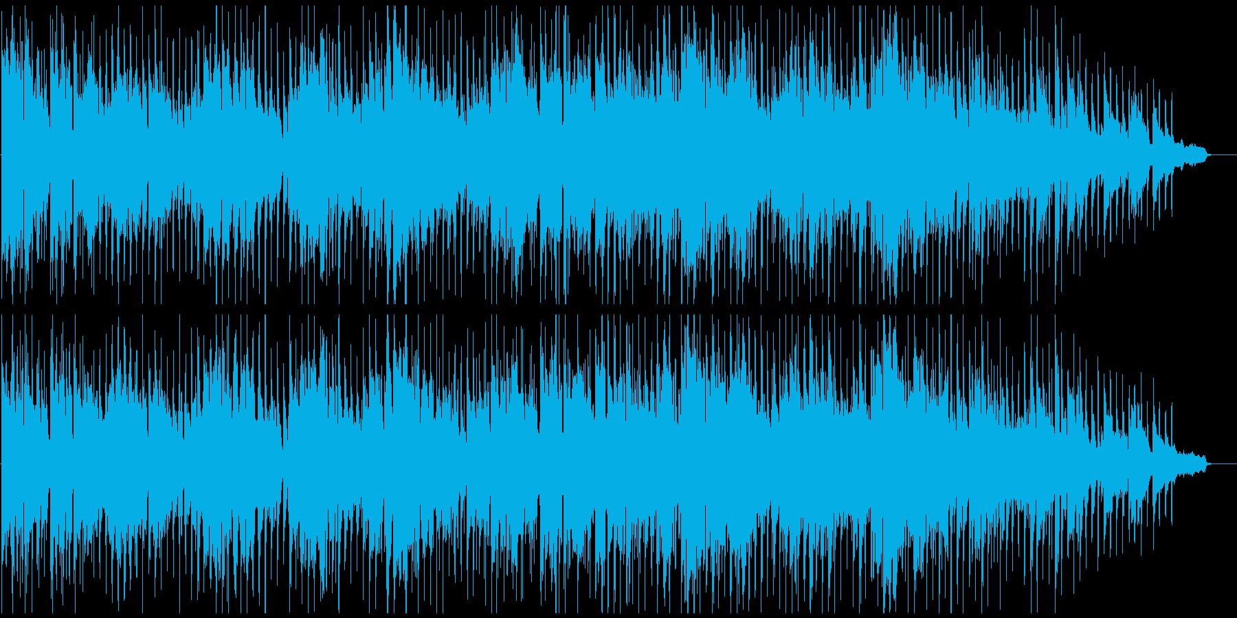 スタイリッシュでノリノリなクラブジャズの再生済みの波形