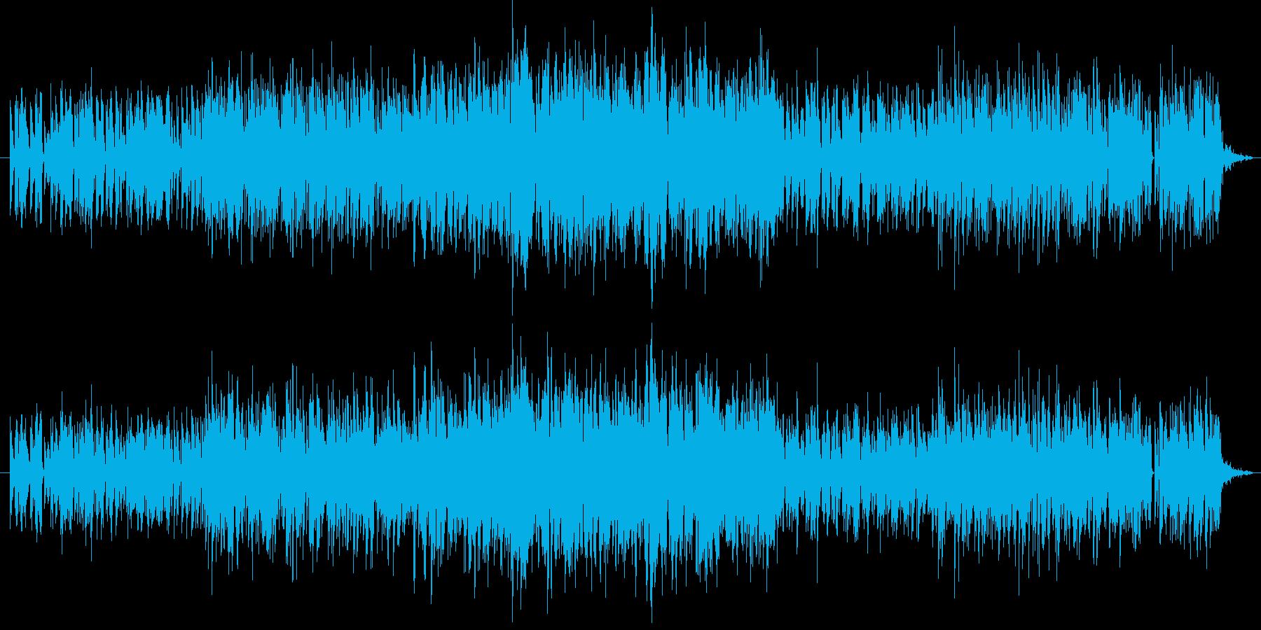 猫の名前の再生済みの波形