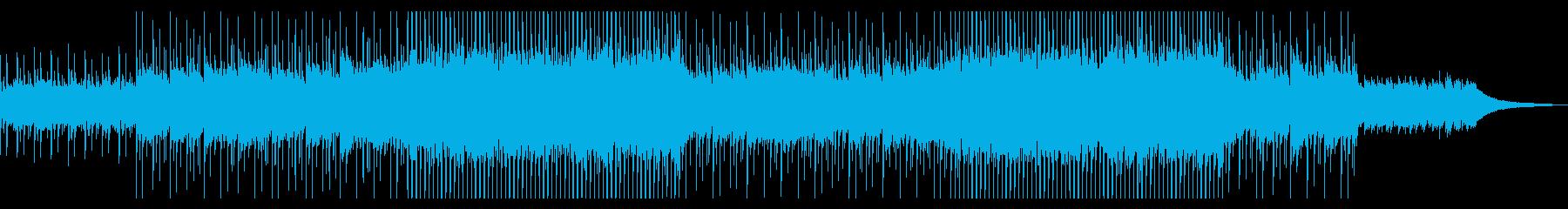【メロディ抜き】透明感のある爽やかなコーの再生済みの波形