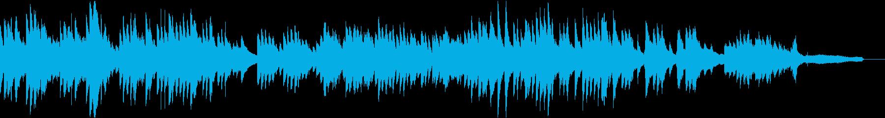 秋の里山の再生済みの波形