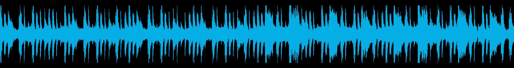 ラウンジ まったり レトロ アクテ...の再生済みの波形