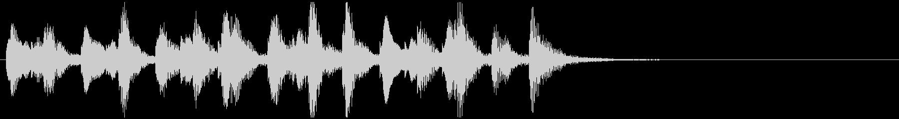 のほほんジングル039_元気-3の未再生の波形