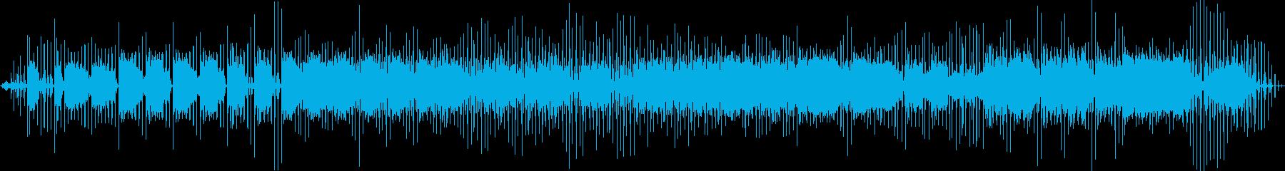 クールな映像音楽の再生済みの波形