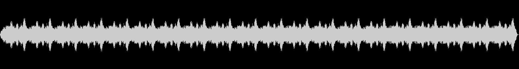 リラクゼーション音楽。瞑想・スパ・映像用の未再生の波形