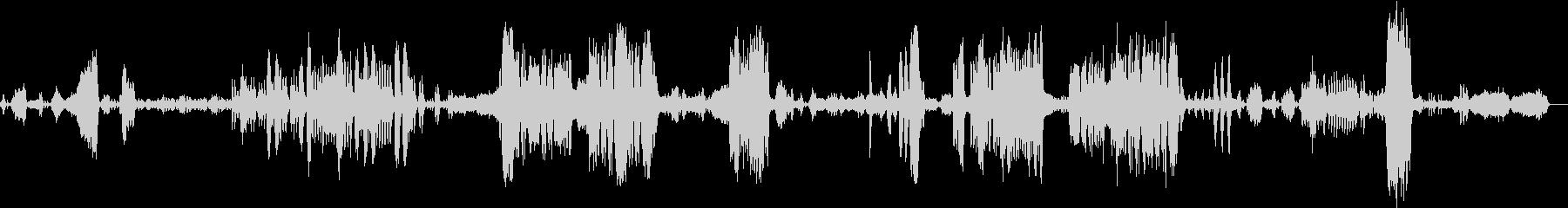 リヒャルト・ワーグナーのカバーの未再生の波形