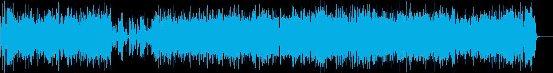 ケルト・バイオリン生演奏のRPG系戦闘曲の再生済みの波形