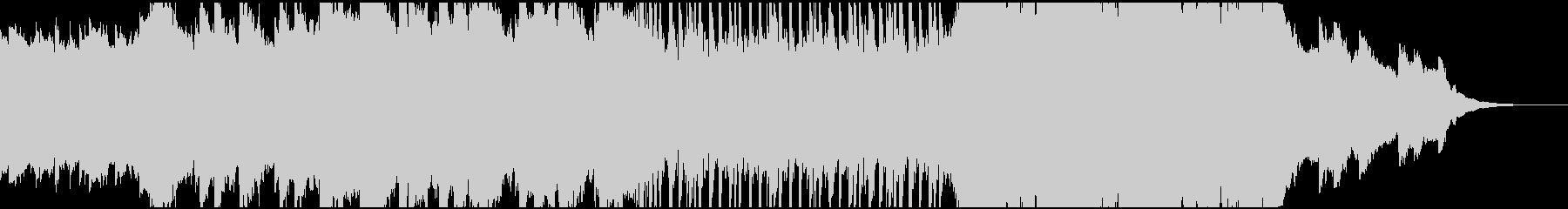 インディーズ ロック民謡の未再生の波形