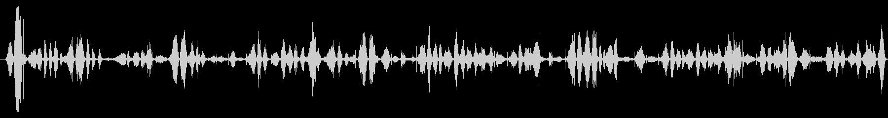 ファインポイントペン:ライティング...の未再生の波形