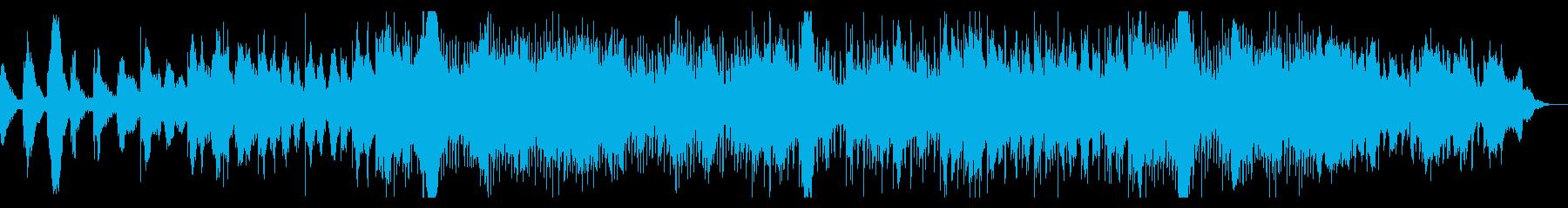 幻想的なアンビエントIDMの再生済みの波形