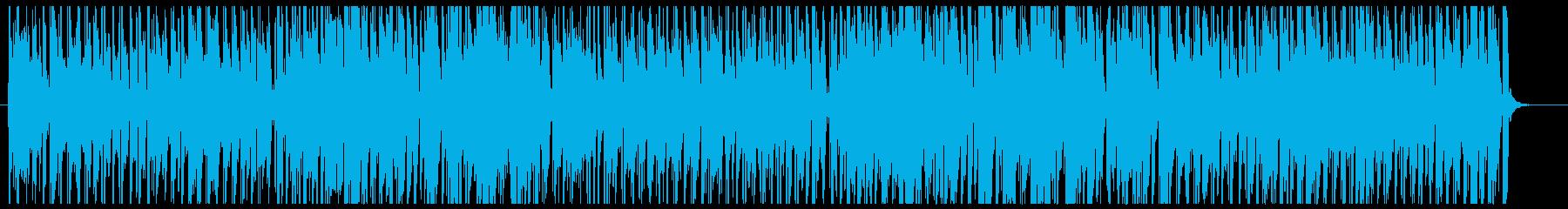 爽やかボサノバの再生済みの波形