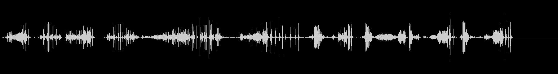 セクレタリーデスクの低いヒンジのき...の未再生の波形