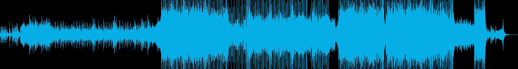 2人が結ばれる演出に・スローテクノ Bの再生済みの波形