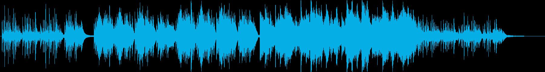 和風◆美しく儚げなヒーリング系BGMの再生済みの波形