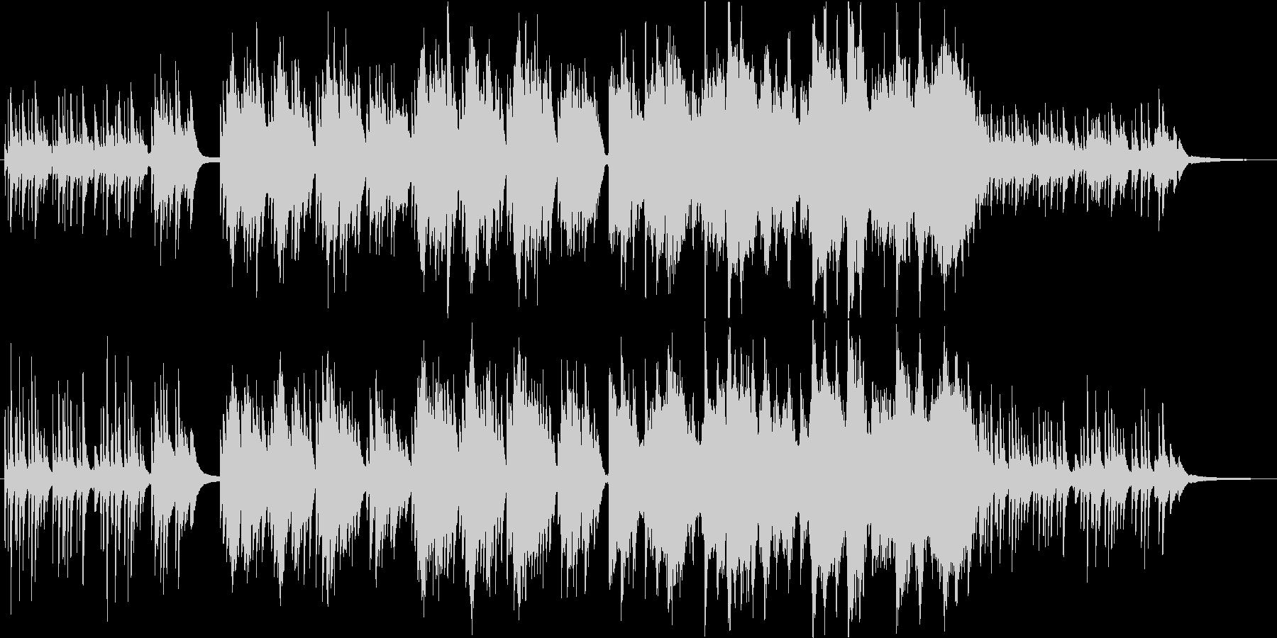 和風◆美しく儚げなヒーリング系BGMの未再生の波形