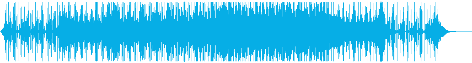 シンセが気持ち良く響くトラップ寄りテクノの再生済みの波形