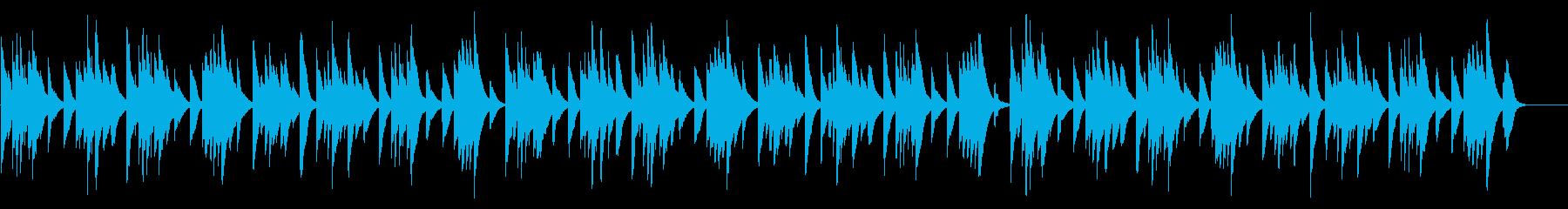 いつくしみ深き カード式オルゴールの再生済みの波形
