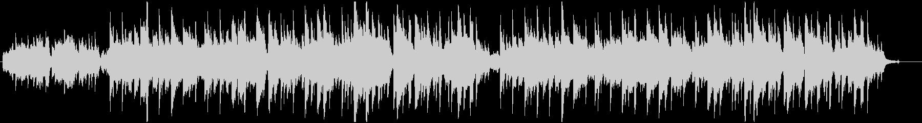 アイルランド民謡のアコースティックカバーの未再生の波形