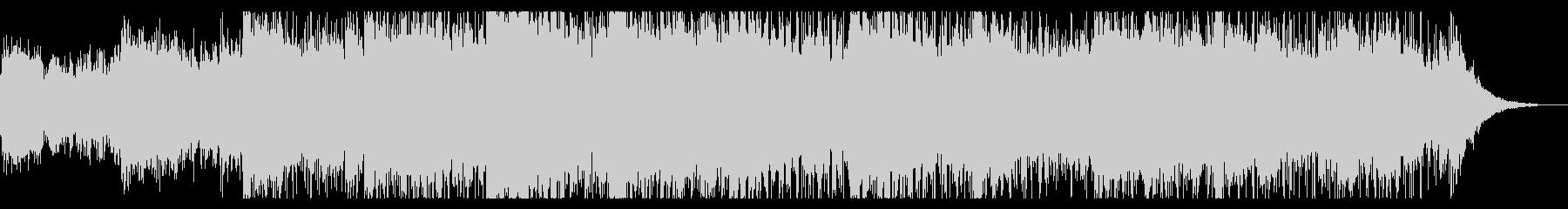 怪しいムードのサウンドスケープの未再生の波形