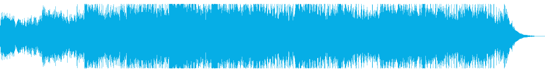 怪しいムードのサウンドスケープの再生済みの波形