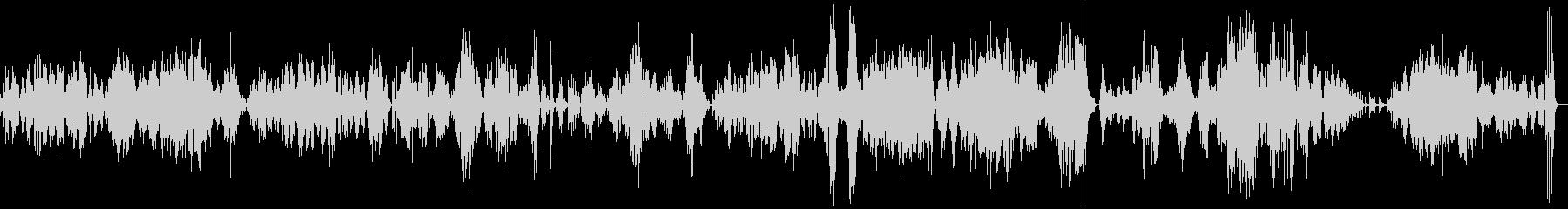 モーツァルトピアノソナタK333第3楽章の未再生の波形