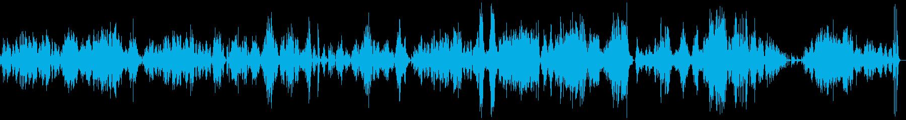モーツァルトピアノソナタK333第3楽章の再生済みの波形