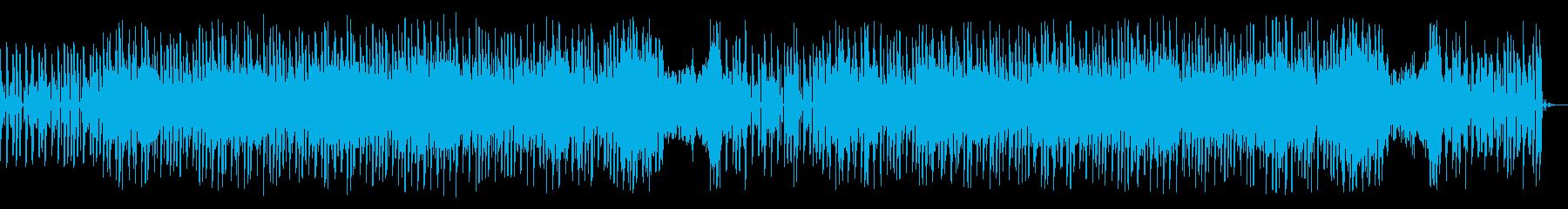 コミカルで民族音楽っぽいエレクトロニカの再生済みの波形