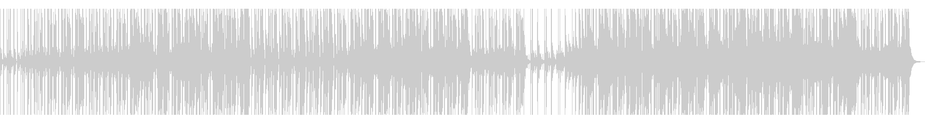 【短いVer5】スローファンクロックの未再生の波形