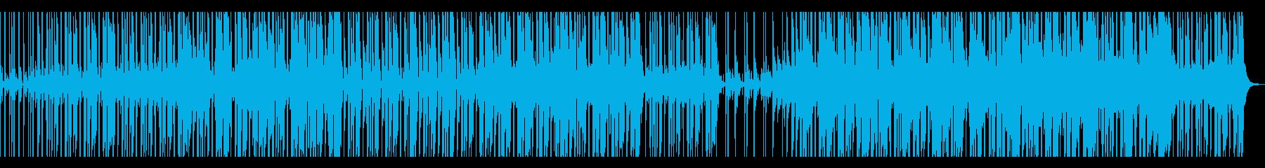 【短いVer5】スローファンクロックの再生済みの波形