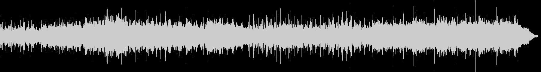 古ぼけたピアノのなつかしい雰囲気のBGMの未再生の波形