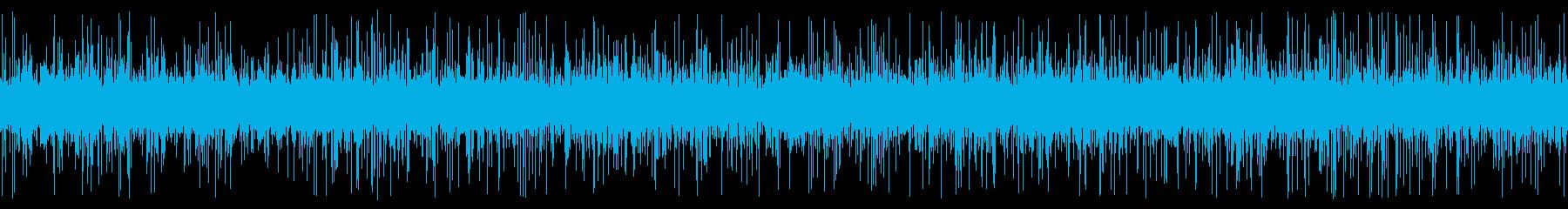 用水路の水音と虫の鳴き声 9月 ループの再生済みの波形